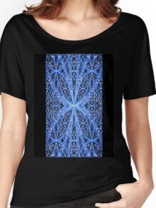 Abstract Snowflake iPhone / Samsung Galaxy Case Women's Relaxed Fit T-Shirt