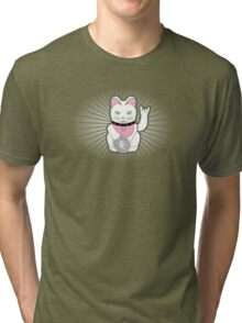 Hello Rock Kitty Tri-blend T-Shirt
