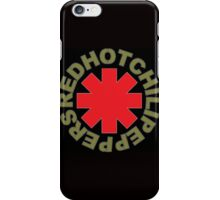 The Red Hot Chili peppers logo iPhone Case/Skin