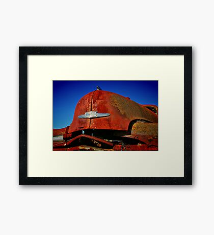 """The Hood"" Framed Print"