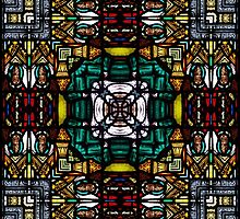 Stained glass 9 by Yampimon