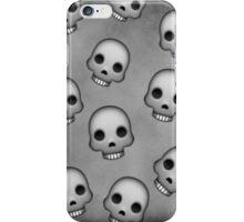 Skull Emoji Pattern  iPhone Case/Skin