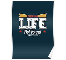 programmer : error 404, life not found Poster