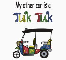 My other car is a Tuk Tuk by mobii