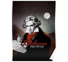 Beethoven piano virtuoso Poster