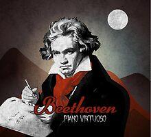 Beethoven piano virtuoso by TICS