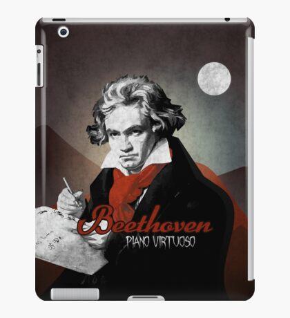 Beethoven piano virtuoso iPad Case/Skin