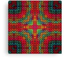 Knitter 2 Canvas Print