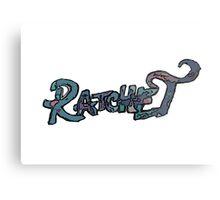 RATCHET Metal Print