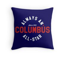 All Star Columbus Throw Pillow