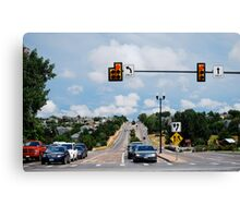 Red Light....  STOP! Canvas Print