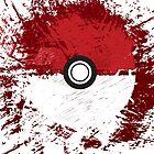 Pokeball Splat by RareCandyUK