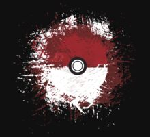 Pokeball Splat by RareCandyUK