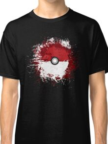 Pokeball Splat Classic T-Shirt
