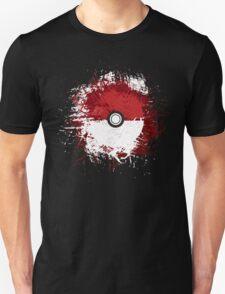 Pokeball Splat Unisex T-Shirt