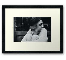 Schizophrenia iv Framed Print