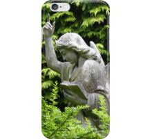 Don't blink, don't look away! iPhone Case/Skin