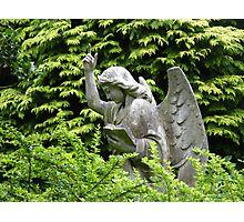 Don't blink, don't look away! Photographic Print