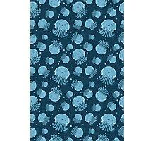 Night jellyfish Photographic Print