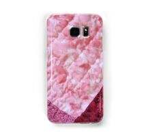 Quilted Flowers Samsung Galaxy Case/Skin