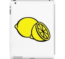 Yellow lemons iPad Case/Skin