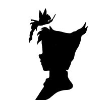 Peter and Tink Silhouettes by ChandlerLasch