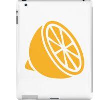 Yellow lemon iPad Case/Skin