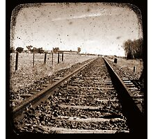 Track to Nowhere Photographic Print