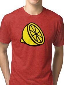 Yellow lemon Tri-blend T-Shirt