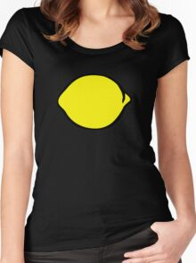 Lemon Women's Fitted Scoop T-Shirt