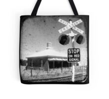 Stop on Red Tote Bag