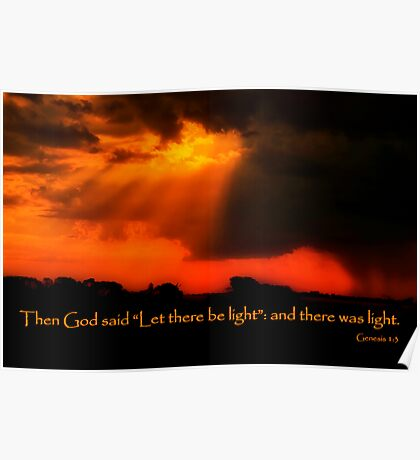 """And God Spoke"" Poster"