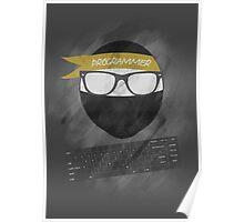 programmer ninja Poster