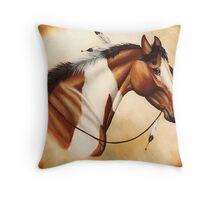 Indian Pony, II Throw Pillow