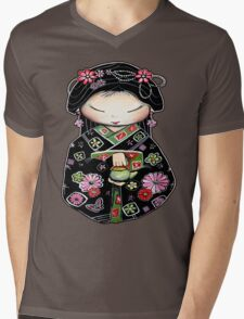 Little Green Teapot for colour  Mens V-Neck T-Shirt