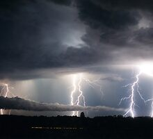 Lightning Fest at Alstonville by Michael Bath