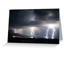 Lightning Fest at Alstonville Greeting Card