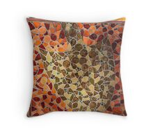 Tile Artwork Throw Pillow