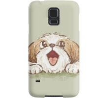Happy Shih Zhu Samsung Galaxy Case/Skin