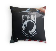 MIA /POW Throw Pillow