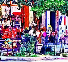 Asheville NC - Gift Shop by Susan Savad