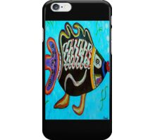 "BANDIT - the fish that ""resurfaced"" from the flames iPhone Case/Skin"