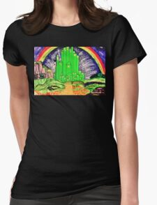 The Emerald City Womens Fitted T-Shirt