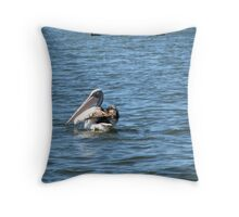 """THE UMPIRE"" Throw Pillow"