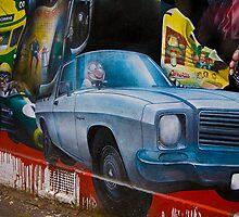 murals representing  history 2004 by Rosina  Lamberti