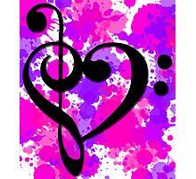 Musical Valentine Photographic Print