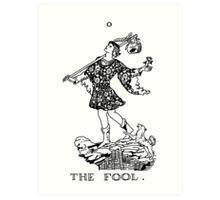 The Fool Tarot Card Art Print