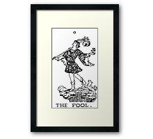 The Fool Tarot Card Framed Print