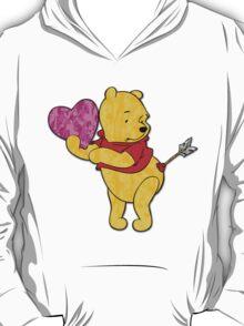 Pooh Bear Cupid Valentine T-Shirt