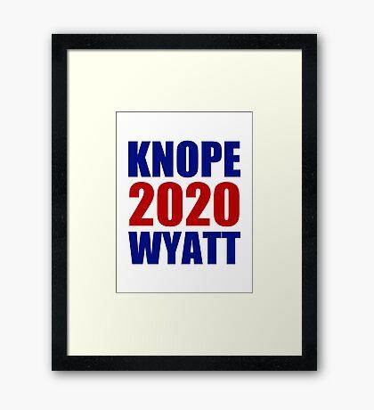 Knope Wyatt 2020 - Parks and Recreation Framed Print